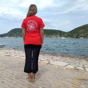 Vliho yacht club t-shirt red